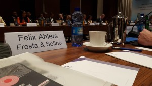Meeting presenting Solino