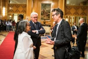 Steinmeier und die äthiopische Präsidentin Sahle-Work Zewde
