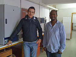 Me at the University Lab