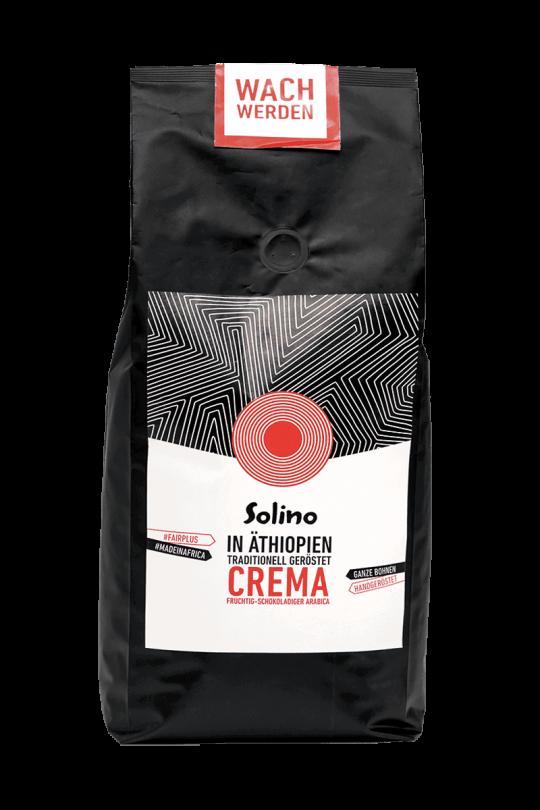 Solino Caffè Crema 1 kg Packshot