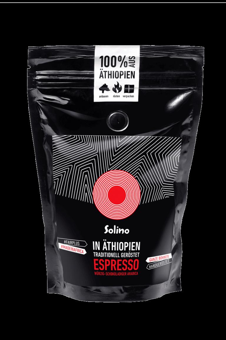 Solino Espresso Packshot 200g Bild