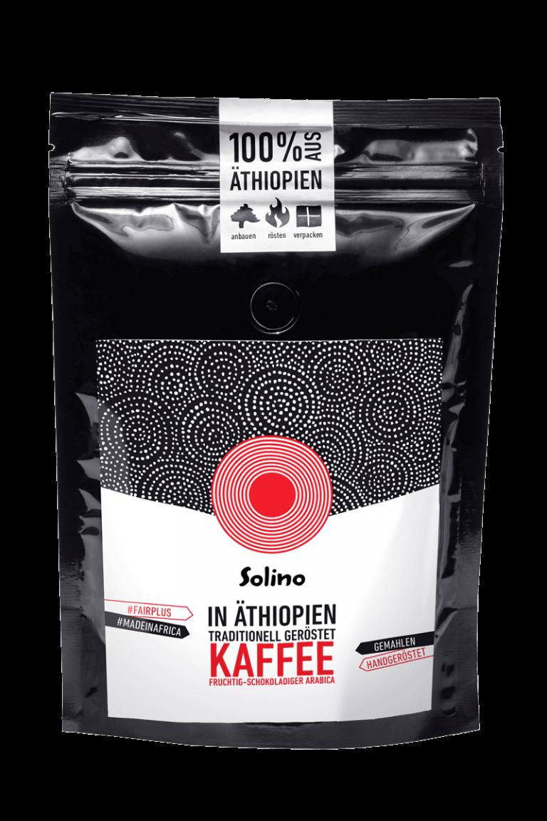 Solino Kaffee Packshot 250g Bild