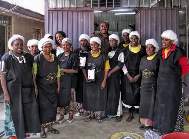 Das Solino-Team in Addis Ababa