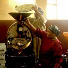 Rösten des Solino Kaffees
