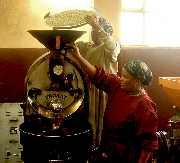 Solino coffee roasting