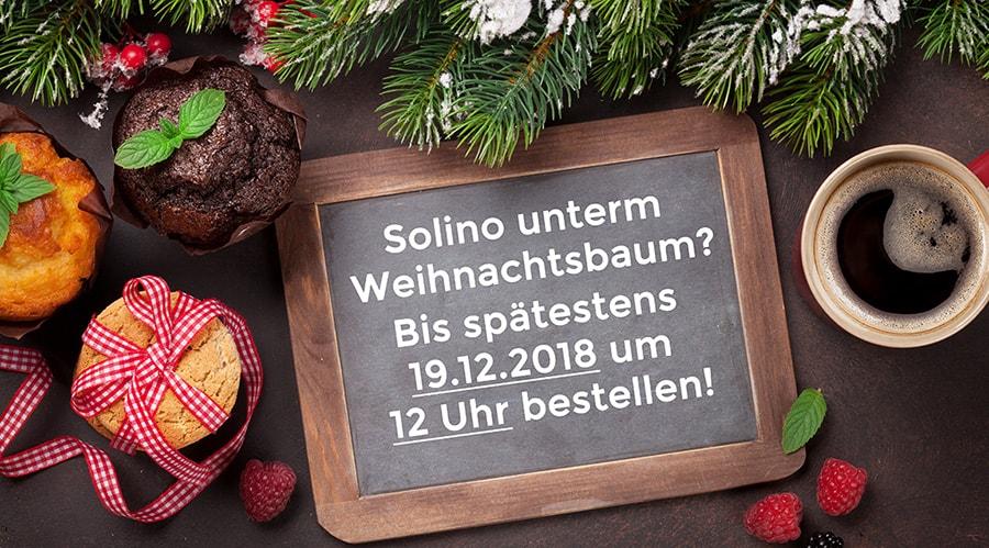 Einkauf vor Weihnachten - Banner